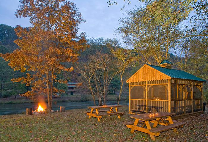 Toccoa River Cabin Riverfront Cabin Georgia