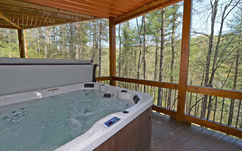 Aska escape lodge cabin in blue ridge aska cabin rentals for 20 river terrace rentals