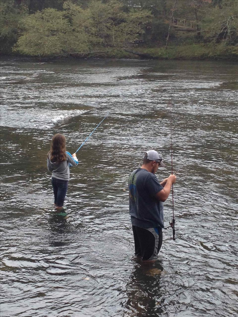Fishing In The Toccoa River