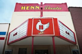 The Henn Theatre | Cabin Rentals of Georgia | Theater Entertainment