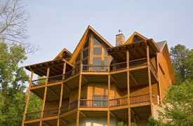 Outlaw Ridge | Cabin Rentals of Georgia | Huge Covered Porches