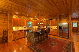 The River's Edge | Cabin Rentals of Georgia | Gourmet Kitchen