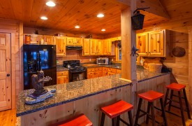 All Inspired Lodge | Cabin Rentals of Georgia | Gourmet Kitchen