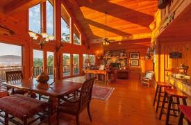 All Inspired Lodge | Cabin Rentals of Georgia | Open Floor Plan