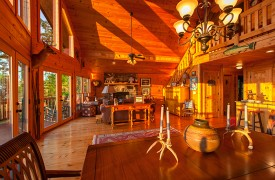 All Inspired Lodge | Cabin Rentals of Georgia | Unique Decorations