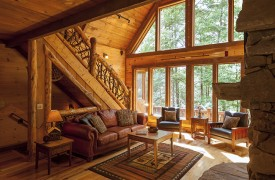 Hemlock Hideaway | Cabin Rentals of Georgia | Plenty of Natural Light