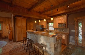Hemlock Hideaway | Cabin Rentals of Georgia | Fully Equipped Kitchen