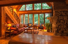 Hemlock Hideaway | Cabin Rentals of Georgia | Beautiful Architecture