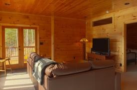 Serendipity On Noontootla Creek | Cabin Rentals of Georgia | Living Area