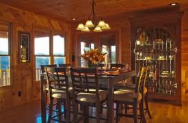 Serendipity On Noontootla Creek | Cabin Rentals of Georgia | Dining Area