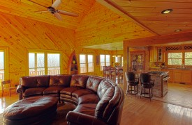Serendipity On Noontootla Creek | Cabin Rentals of Georgia | Great Room