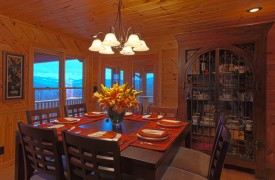 Serendipity On Noontootla Creek | Cabin Rentals of Georgia | Dining Area