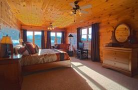 Serendipity On Noontootla Creek | Cabin Rentals of Georgia | King Suite