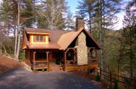 Aska Escape Lodge | Exterior | Cabin Rentals of Georgia