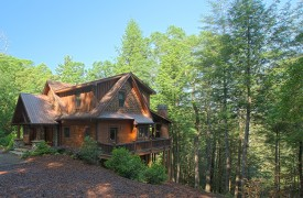 Hemlock Hideaway | Cabin Rentals of Georgia | Perched Above Creek