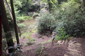 Hemlock Hideaway | Cabin Rentals of Georgia | Easy River Access
