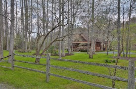 Toccoa Tails | Cabin Rentals of Georgia | Landscaped Yard