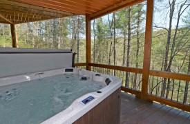 Aska Escape Lodge | Cabin Rentals of Georgia | Hot Tub Views