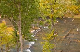 A Rolling River Cabin | Cabin Rentals of Georgia | Porch Views of River